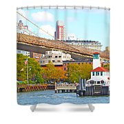 City View Three Shower Curtain