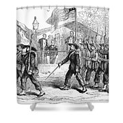 Civil War: 39th Regiment Shower Curtain