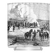 Civil War: 7 Days Battles Shower Curtain