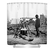 Civil War: Army Cook Shower Curtain