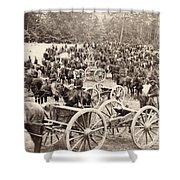 Civil War: Artillery, 1862 Shower Curtain