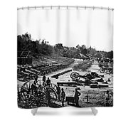 Civil War: Artillery Shower Curtain