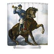 Civil War: Bugler, 1863 Shower Curtain