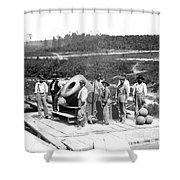 Civil War: Cannon, 1864 Shower Curtain