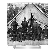 Civil War: Chaplains, 1864 Shower Curtain