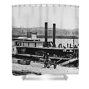 Civil War: Chickamauga Shower Curtain