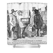 Civil War: Copperhead, 1863 Shower Curtain