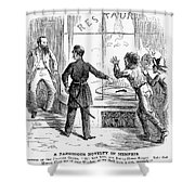Civil War: Food Shortage Shower Curtain