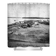 Civil War: Fort Defiance Shower Curtain