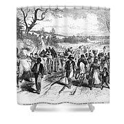 Civil War: Freedmen, 1863 Shower Curtain by Granger