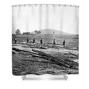 Civil War: Graves, 1862 Shower Curtain