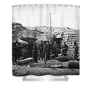 Civil War: Headquarters Shower Curtain