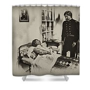 Civil War Hospital Shower Curtain by Bill Cannon