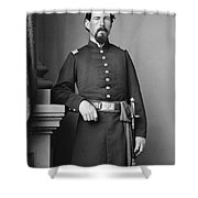 Civil War Major, C1865 Shower Curtain