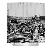 Civil War: Manassas, 1862 Shower Curtain