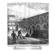 Civil War: New York Fort Shower Curtain by Granger