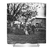 Civil War: Nurses & Officers Shower Curtain