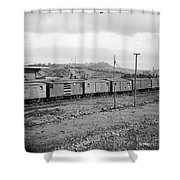 Civil War: Railroad, 1864 Shower Curtain