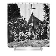 Civil War: Religion Shower Curtain