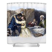 Civil War: Returning Home Shower Curtain