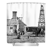 Civil War: Signal Tower Shower Curtain