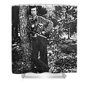 Civil War: Soldier, 1861 Shower Curtain