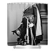 Civil War: Union General Shower Curtain