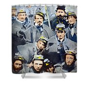 Civil War: Volunteers, 1861 Shower Curtain