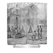 Civil War: Voting, 1864 Shower Curtain