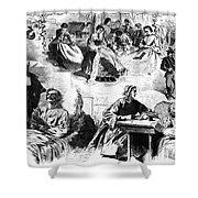 Civil War: Women, 1862 Shower Curtain