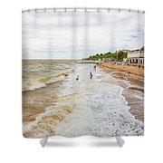 Clacton Beach Shower Curtain