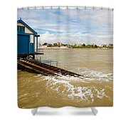Clacton Lifeboat House Shower Curtain