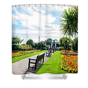 Clacton Pleasure Garden Shower Curtain