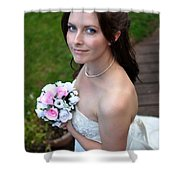 Claire1 Shower Curtain