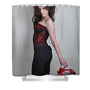 Claire2 Shower Curtain