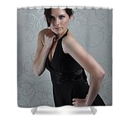 Claire3 Shower Curtain