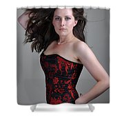 Claire5 Shower Curtain