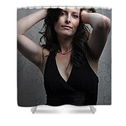 Claire7 Shower Curtain