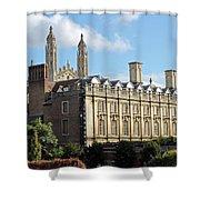 Clare College Cambridge Shower Curtain