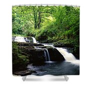Clare Glens, Co Limerick, Ireland Irish Shower Curtain