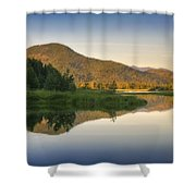 Clark Fork Delta 3 Shower Curtain