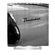 Classic 55 Thunderbird Shower Curtain
