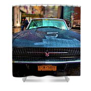 Classic 66 Tbird Shower Curtain
