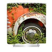 Classic Car Forgotten Shower Curtain