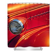 Classic Car Lines Shower Curtain