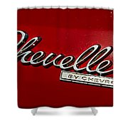 Classic Chevelle Shower Curtain
