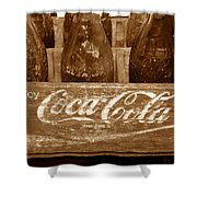 Classic Coke Work B Shower Curtain