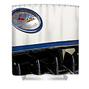 Classic Corvette Shower Curtain