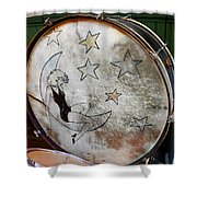 Classic Drums Shower Curtain