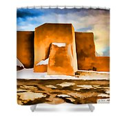 Classic In Abstract Shower Curtain